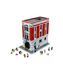 Lego Ghostbusters Firehouse Headquarters 75827 100 Complete W/ Minifigures
