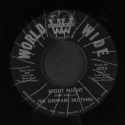 Sheppard Brothers Night Flight / Saison Voeux World Large Records 11 17.8cm