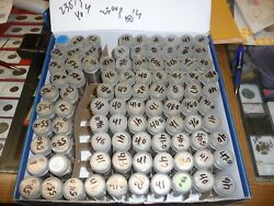 1940 1941 1946 1947 1948 Jefferson Nickel Full Date Circulated Roll Lot Of 67