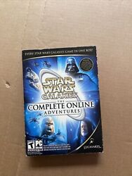 Star Wars Galaxies The Complete Online Adventures - Pc New Factory Sealed Dvd
