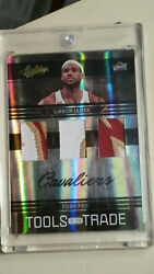 2009-10 Absolute Lebron James Sick 3x Logo Patch 11/25 Refractor
