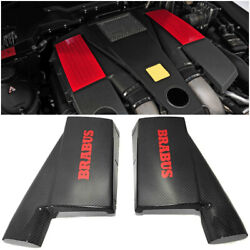 Mercedes-benz W463 G63 G55 G-class Biturbo Engine Side Air Ducts Carbon Covers