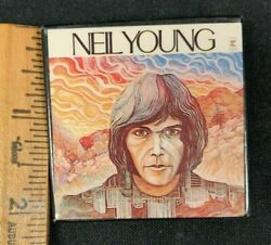 Vintage Neil Young 1969 Neil Young Album Art Collectible Pin M