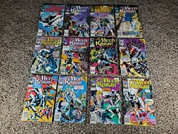 Marc Spector Moon Knight 1-11 13 1989 Marvel Comics