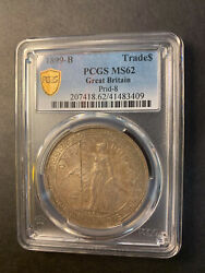 China Great Britain Trade Dollar 1899 Bombay Toned Uncirculated Pcgs Ms62