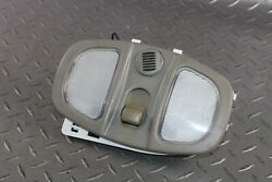05-09 Equinox Gray Overhead Roof Console Dual Map Light Switch Microphone