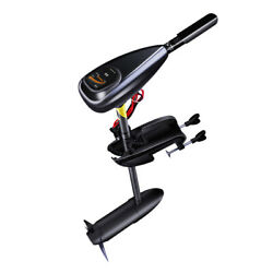 55 Lbs Electric Trolling Motor Transom Mount Ourboard Adjustable Handle