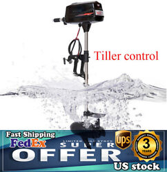 Hangkai Electric Outboard Motor Fishing Boat Trolling Engine 2200w With Propel