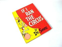 If I Ran The Circus From Dr. Seuss Hardcover New