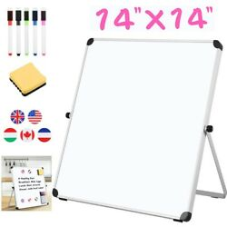 14x14 Magnetic Whiteboard Office Dry Wipe Drawing And Writing Erase Board School