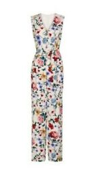 Bnwt Hobbs Chelsea Jumpsuit Floral Cream Wedding Summer Party Size Uk 10 Rrp£229