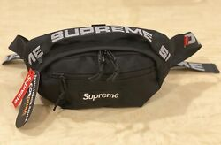 Brand New Supreme Black Waist Bag Shoulder Bag Fanny Pack Unisex $39.99