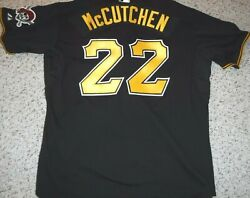 Pittsburgh Pirates 2011 Game Jersey Andrew Mccutchen 2011 Set 1 Tanner Patch