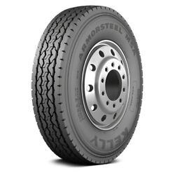 Kelly Set Of 4 Tires 42x11r22.5 K Armorsteel Msa All Season / Commercial Hd
