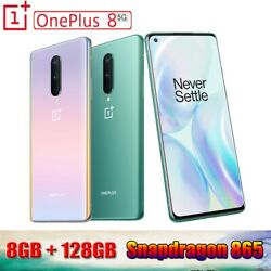 Oneplus 8 5g Smartphone 8gb 128gb Octa Core 48mp 6.55and039and039 90hz Fluid Amoled Screen