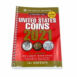 2021 Red Book Price Guide To Us Coins Not Bound 74th Edition Yeomanu S