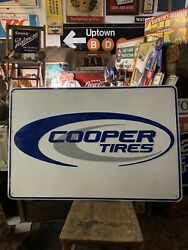 Cooper Tires Sign Very Big Official Cooper Tire Sign Embossed Gas Station Sign