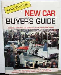 1960 Mercury Dealer New Car Buyers Guide Information Tips Prices Comparisons
