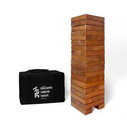 Yard Games,giant Tumbling Timbers- Stained Set Outdoor/indoor Events And Parties