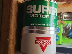 Conoco Oil Can Collection's. 《23》cans Available. 5 Cans Have Some Minor Rust.