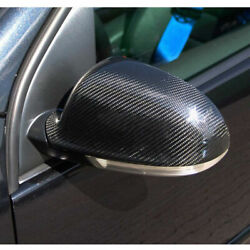 For Vw Golf 5 Mk5 Standard/gti/r32 06-09 Carbon Fiber Side Wing Mirror Cover Cap