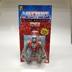 Masters Of The Universe Origins Stratos Action Figure Motu In Hands Not Mint