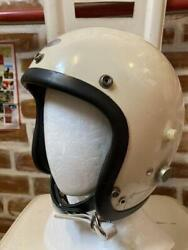 Bell Helmets Ell 500tx M Shell Double Strap 1960's Vintage Size 7 3/8