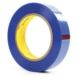 3m 8902 Film Tape,polyester,blue,1in X 72yd,pk36