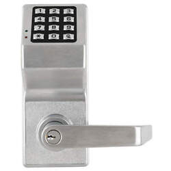 Locdown Dl6100 Us26d Electronic Lockbrushed Chrome12 Button