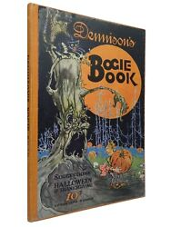 Dennison's Bogie Book Suggestions For Halloween And Thanksgiving 1924 Hardcover