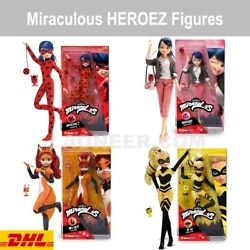 New Miraculous Ladybug Zag Heroes Action Figures 10.5 - Free Dhl Shipping