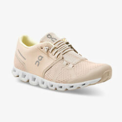 On Cloud Womens Sand Pearl Athletic Performance Running Walking Shoes
