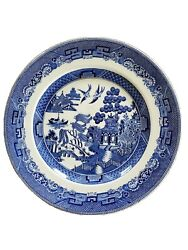 Blue Willow China - Johnson Brothers England - 1940s -set Of 4