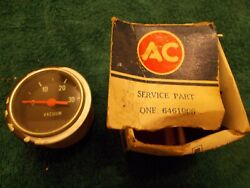 67 68 69 70 71 72 Chevy Truck Vacuum Gauge 6461006 Nos Ac Dated 1969 In Box