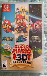 Super Mario 3d All-stars - Nintendo Switch Discontinued. Donating Proceedings
