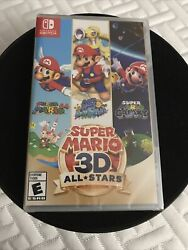 Super Mario 3d All-stars - Nintendo Switch Discontinued Brand New Sealed 🔥lmt