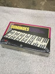 Cardinal 55 Pc Double Nine Catalin Dominoes Set 511 New In Box W/case Games