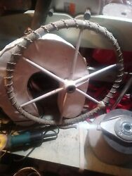 Edson Destroyer Sailboat Steering Wheel 22 Rope Wrapped 1 Straight Bore