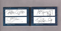 Kiss - All 4 Autos Paul Gene Ace And Peter Upper Deck Very Rare Andnbsp