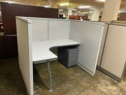5' X 4' X 52h Cubicles / Workstations Partition System By Steelcase Avenir