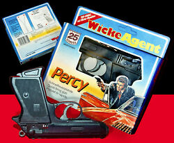 Set ☆ Lone Star Wicke Walther Ppk ☆ Percy Agent Toy Cap Gun 1980s James Bond