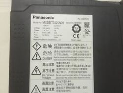 1pc Used Panasonic Ac Servo Driver Mcddt3520n09 Free Expedited Shipping