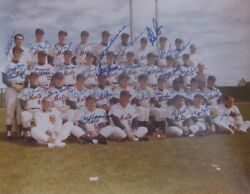 1969 World Series New York Mets Team Signed By 31 Players 11x14 Photo Jsa 149713