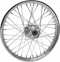 Front Replacement Spoke Wheels For - 64558 With Abs 21 X 2.15 Chrome