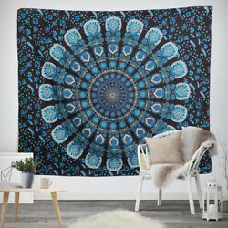 Wall Hanging Boho Peacock Tapestry Carpet Tapestries Home Room Decor Bedspread