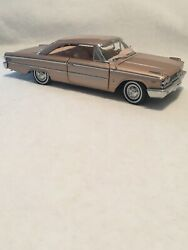 1963 1/2 Ford Galaxie Xl 500 1/18 Scale In Rare Rose Mist Paint