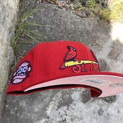 7 1/4 Pink Uv Hat Club Exclusive St Louis Cardinals 125th Anniversary Fitted