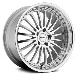 Tsw Silverstone Wheels 19x8 35 5x100 72.1 Silver Rims Set Of 4