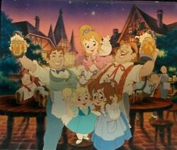 Tiny Filmstrip Keychain From Real Chipmunk Adventure Movie Chipettes Group Shots