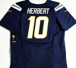 Nwt-pro-40 Justin Herbert San Diego Chargers Authentic Licensed Nfl Nike Jersey